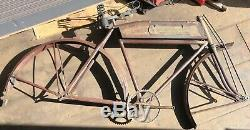 1923 MEAD RANGER MENS MOTORBIKE 28 Tall TANK PREWAR VINTAGE SCHWINN BICYCLE