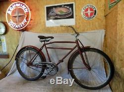 1930s ELGIN PREWAR BALLOON TIRE BICYCLE VINTAGE ANTIQUE B10E SCHWINN 1933-1935