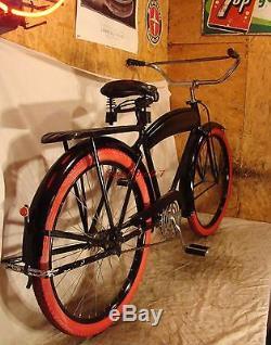Twin 50 Twinbar Prewar Bicycle Delta Red Rack Taillight Lens Elgin Twin 20