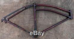1936 Vintage Prewar Colson Bicycle Long FRAME XL Cruiser Motor Bike Schwinn Q