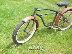1950's Schwinn 20 Balloon tire skip tooth bike Hornet Spitfire cantilever frame
