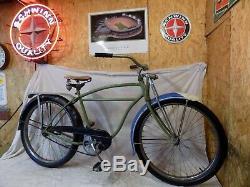 1950s SCHWINN HORNET MENS STRAIGHTBAR BICYCLE VINTAGE PHANTOM PANTHER SPRINGER