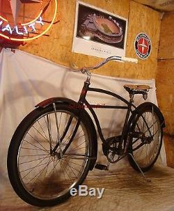 1950s Schwinn Majestic Straightbar Cruiser Bike Vintage