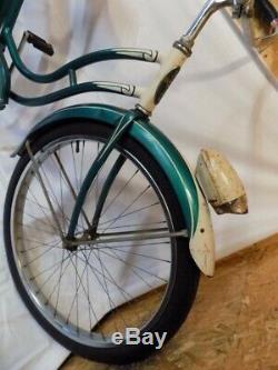 1950s SCHWINN WASP BALLOON TIRE BICYCLE VINTAGE CRUISER S2 B6 HORNET PHANTOM 50S