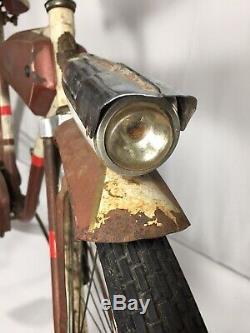 1950s STANDARD AUSTRIA MENS TANK BIKE VINTAGE ELGIN SCHWINN RACK LIGHT DELUXE