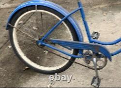 1950s Schwinn Hornet Ladies Tank Bike Vintage S2 Balloon Tires