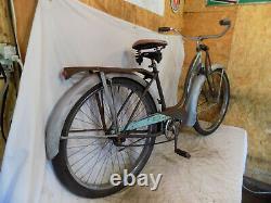 1951 Schwinn Panther Ladies Vintage Blue Cruiser Bicycle Springer Phantom S2 50s