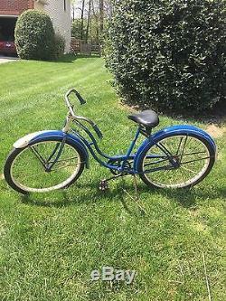 1951 Schwinn Womens Cruiser Bicycle Vintage