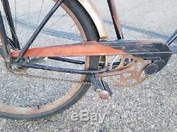 1952 Schwinn Black Phantom Antique Vintage Bicycle Rare Original