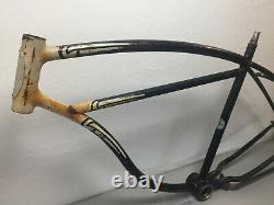 1953 BF GOODRICH / SCHWINN HORNET Straight Bar Frame Black Chicago Vintage 26