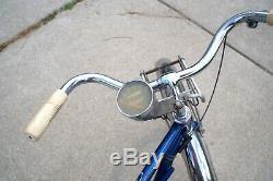 1956 Schwinn Corvette 2-speed coaster Bendix vintage bicycle overhauled