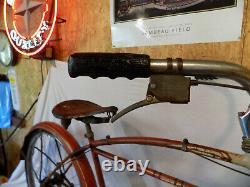 1956 Schwinn Flying Star Vintage Tank Bicycle Rat Rod Typhoon Deluxe Tornado S7
