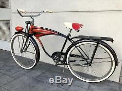 1957 SCHWINN Deluxe Hornet Bicycle 26 Inch Men's Original Vintage Bike