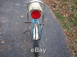 1960's Schwinn Stingray deluxe bike vintage 1968 bicycle blue Sting Ray coaster