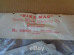 1960's Vintage NOS Mag Wheel Kit for Schwinn Stingray Bicycle Sting-ray Bikes