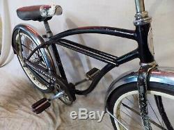 1962 Schwinn Typhoon 20 Double Straightbar Bike Vintage Skipper Stingray Tornado