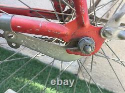 1964 SCHWINN TYPHOON Chicago Vintage Red Bicycle Survivor Bike Cruiser 26