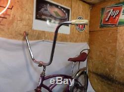 1964 Schwinn Deluxe Stingray Boys Violet/purple Muscle Bike Vintage S2 64 Early