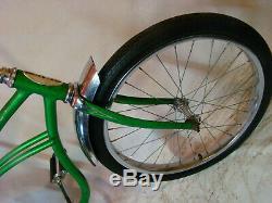 1964 Schwinn Stingray Boys Muscle Bike Vintage Solo Polo Bike Early Lime Green