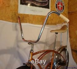 1965 Schwinn Stingray Coppertone Muscle Bike Banana Seat Vintage S2 Nos Slik