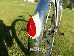 1965 Schwinn Starlet II Ladies Vintage Vintage Tank Bike Hollywood Rack S7 Pink