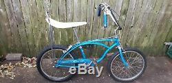 1965 Schwinn Stingray 3 Speed Vintage Banana Seat Muscle Bike