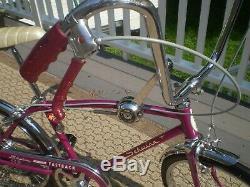 1966 Schwinn Fast Back 5 Speed Vintage Antique Muscle Bicycle