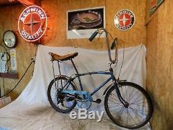 1966 Schwinn Fastback Stingray Sprint Muscle Bike Krate Vintage 5-speed Stik S5