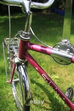 1966 Schwinn Sting-Ray Fastback bicycle, vintage muscle bike, rare violet Stingray
