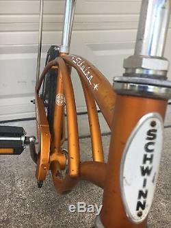 1966 Schwinn Stingray Muscle Bike Coppertone Vintage
