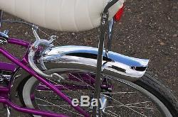 1966 Vintage Schwinn Violet Deluxe 3speed Stingray Bike S2