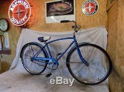 1967 Schwinn Speedster Fastback Mens Vintage Road Bicycle Suburban Manta Ray 70