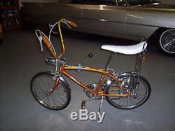 1967 Schwinn Sting-Ray Fastback bicycle, vintage coppertone Stingray