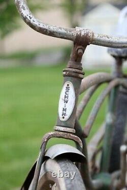 1967 Schwinn Sting Ray bicycle vintage muscle bike green Barn Find banana seat