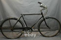 1968 Schwinn Deluxe Racer Vintage Cruiser Bike Medium 55cm Sturmey Steel Charity