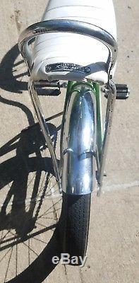 1968 Schwinn Stingray Deluxe Banana Seat Muscle Bike/bicycle Green Vtg S2 60's