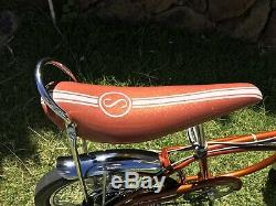 1969 SCHWINN Stingray COPPER KRATE 5 Speed Disc Brake Coppertone vintage Custom