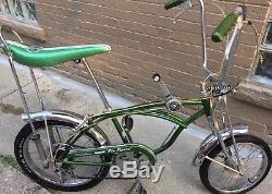 1969 Schwinn Pea Picker Stingray Krate Original Vintage Rare Shifter 5 Speed