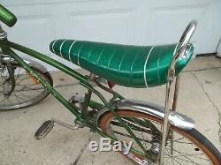 1969 Schwinn Stingray / Fastback Muscle Bike Vintage