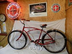 1969 Schwinn Typhoon Mens Beach Cruiser Bicycle S7 American Corvette Vintage 69
