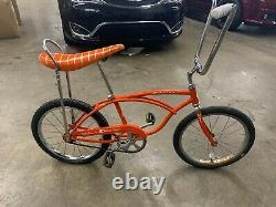 1969 Vintage Schwinn Stingray Fun Bike Orange