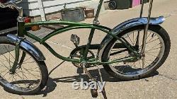 1970 Schwinn Stingray Deluxe Banana Seat Muscle Bike/bicycle Green Vintage S2