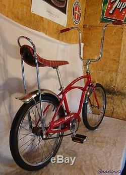 1971 Schwinn Stingray Boys Muscle Bike Vintage Banana Seat