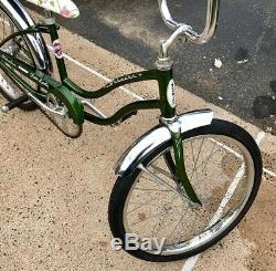 1971 Schwinn Fair Lady Stingray Muscle Bike Vintage Original Slik Tires