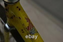 1971 Schwinn Stardust Vintage Banana Cruiser 20 Kids Bike Yellow Steel Charity