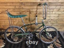 1971 Schwinn Stingray Fastback 3 Speed Shifter Bike Original Vintage