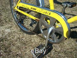 1973 Schwinn Fastback Stingray 5-speed Muscle Bike Krate Vintage Lemon Peeler S5