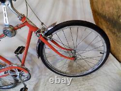 1973 Schwinn Fastback Stingray 5-speed Muscle Bike Krate Vintage Sunset Orange