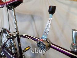 1973 Schwinn Fastback Stingray 5-speed Muscle Bike Krate Vintage Violet/purple