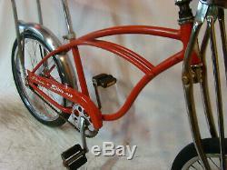 1973 Schwinn Stingray Banana Seat Muscle Bike Apple Krate Clone Springer Vintage